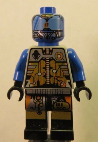 LEGO Space UFO Droid Blue sp043 Minifigure 3012 4305 6800 6816 6818 6829 6975