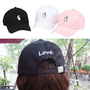 Image is loading Women-Peaked-Hat-HipHop-Curved-Strapback-Baseball-Tennis- 63f0b477c4a