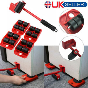 Heavy Duty Furniture Shifter Lifter Wheel Moving Set Slider Mover Sofa Removal
