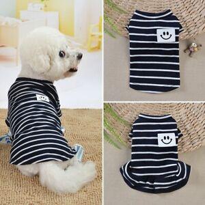 Dog-Clothes-Summer-Teddy-Spring-Pet-Puppy-Cat-Vest-T-Shirt-Dress-Apparel-Skirt