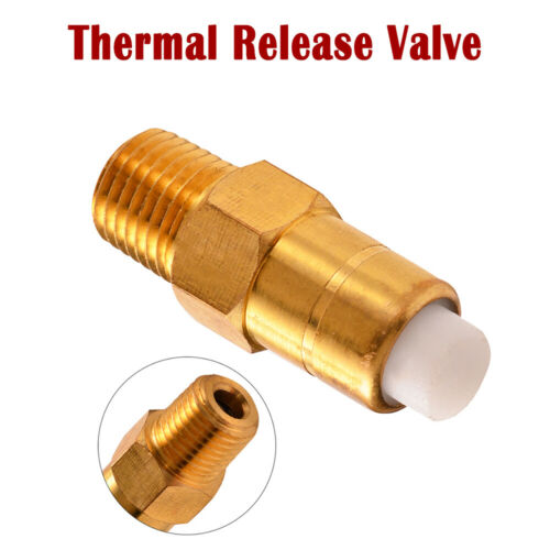 """1//4/"""" inch THERMAL RELEASE RELIEF VALVE for Pressure Power Washer Pumps Brass"""