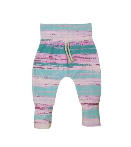 Baby Pumphose ScratchyStripes Rosa Mix Jersey handmade