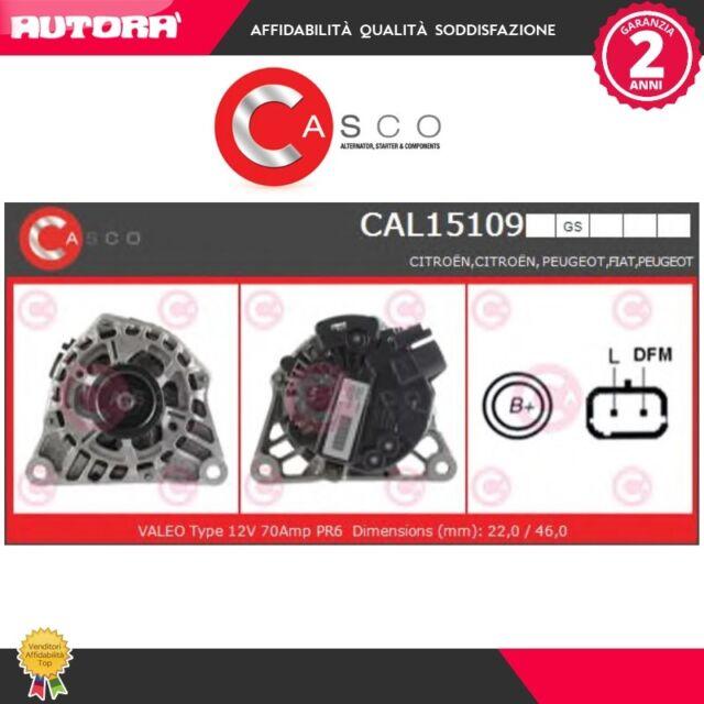 CAL15109GS Alternatore (MARCA-CASCO)