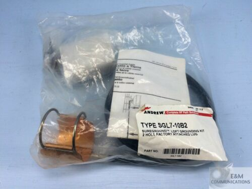"""SGL7-10B2 ANDREW SUREGROUND GROUNDING KIT LDF7 1-5//8/"""" CABLE TWO-HOLE LUG"""