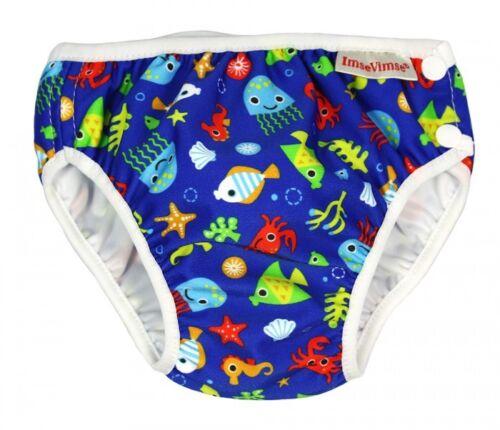 Aquawindel Badewindel Imse Vimse Schwimmwindel Babybadehose Blue Sea Life