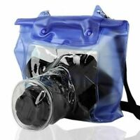 DSLR SLR Camera Underwater Housing Case Waterproof Pouch Dry Bag For Canon Nikon