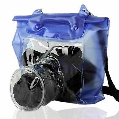 20M DSLR SLR Camera Waterproof Underwater Housing Case Pouch Dry Bag Canon Nikon