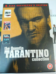 The-Quentin-Tarantino-Collection-Pulp-fiction-Box-Set-6-x-DVD-English-Region-2