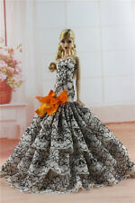 White Fashion Royalty Princess Dress//Clothes//Gown+Veil For 11.5in.Doll S179A