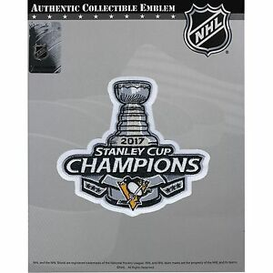 Image is loading 2017-Pittsburgh-Penguins-Stanley-Cup-Champions-Patch- Official- a9298b5a8