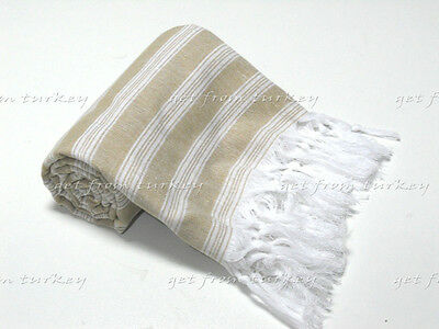 Light Cotton Turkish Towel Pareo Bath Hamam Spa Sauna Beach Gym Peshtemal Hammam