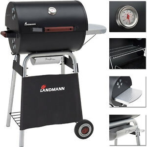garten grill, landmann holzkohle garten grill gusseisen-roste grillwagen deckel, Design ideen