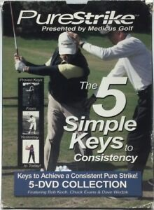 PureStrike-The-5-Simple-Keys-to-Consistency-by-Medicus-Golf-Training-DVD-Box-Set