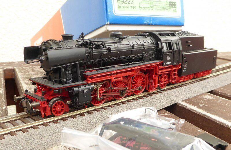 ROCO 69223 H0 AC damplok br br 023 102-7 de DB avec DSS , Locomotive du BW Emden