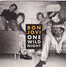 Jon Bon Jovi-One Wild Night cd single