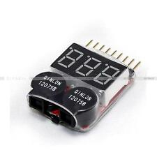 2 In1 Indicator 1-8S Lipo Li-ion Battery Voltage Tester Low Voltage Buzzer Alarm