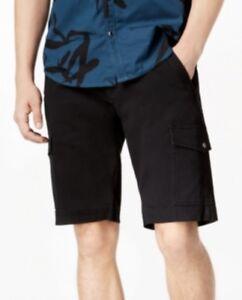 INC-Men-039-s-Shook-Cargo-11-034-Shorts-Color-Deep-Black-MSRP-49-50