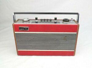 Vintage Transistor Radio c. 1970 Roberts R606-MB Portable Mains Battery FM MW LW