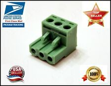 3 Pin 508mm Pluggable Screw Connector Terminal Block Phoenix Plug