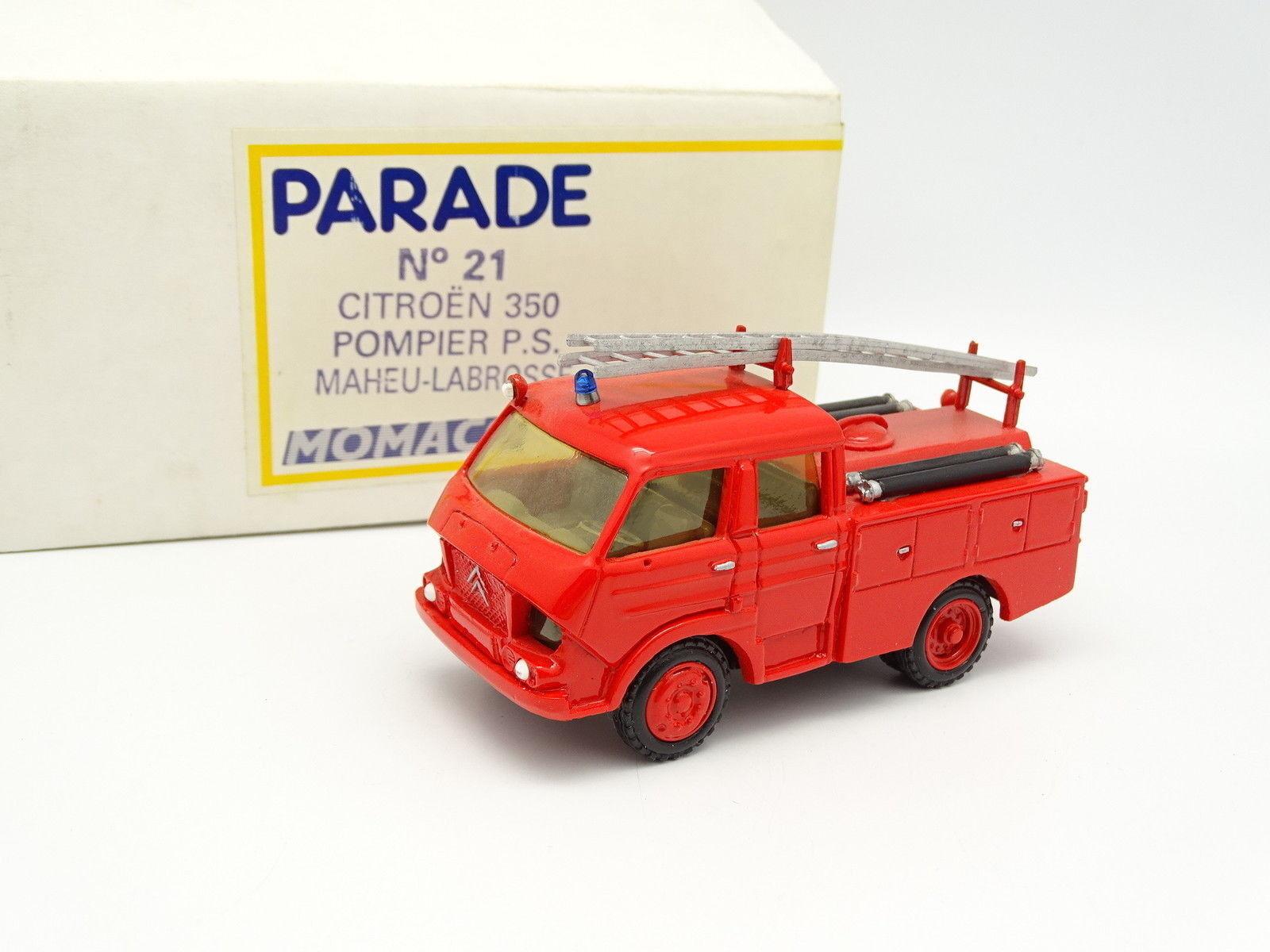 Parade 1 50 - Citroen 350 Double Cabine Maheu Labrosse Pompiers