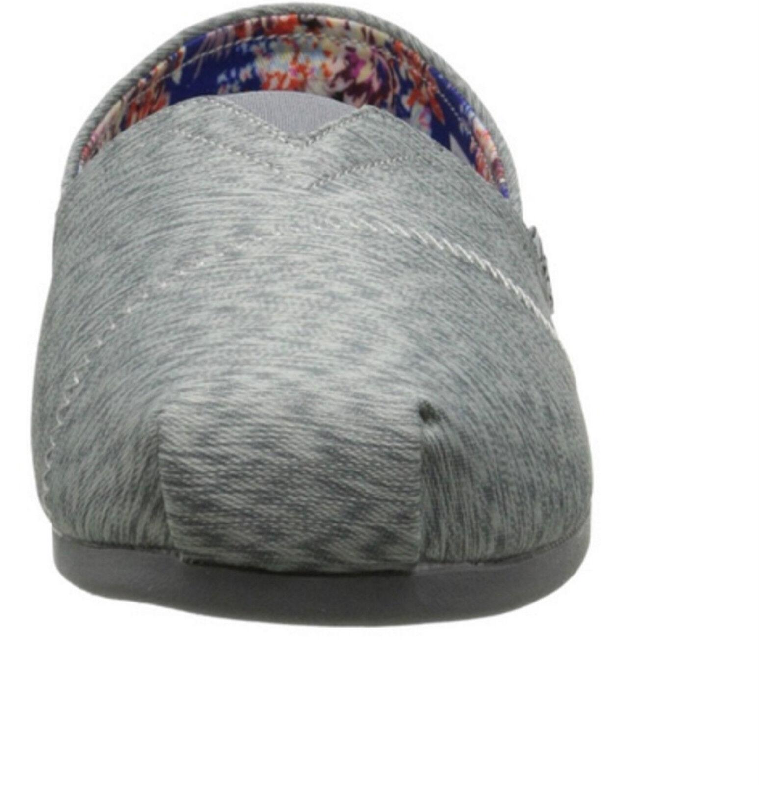 BOBS Foam Skechers Damens Plush Kaleidoscope Flat Gray Schuhes Memory Foam BOBS Flexible Gift 40c4fc