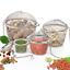 Practical-Stainless-Steel-Tea-Ball-Spice-Strainer-Mesh-Infuser-Filter-Herbal thumbnail 1