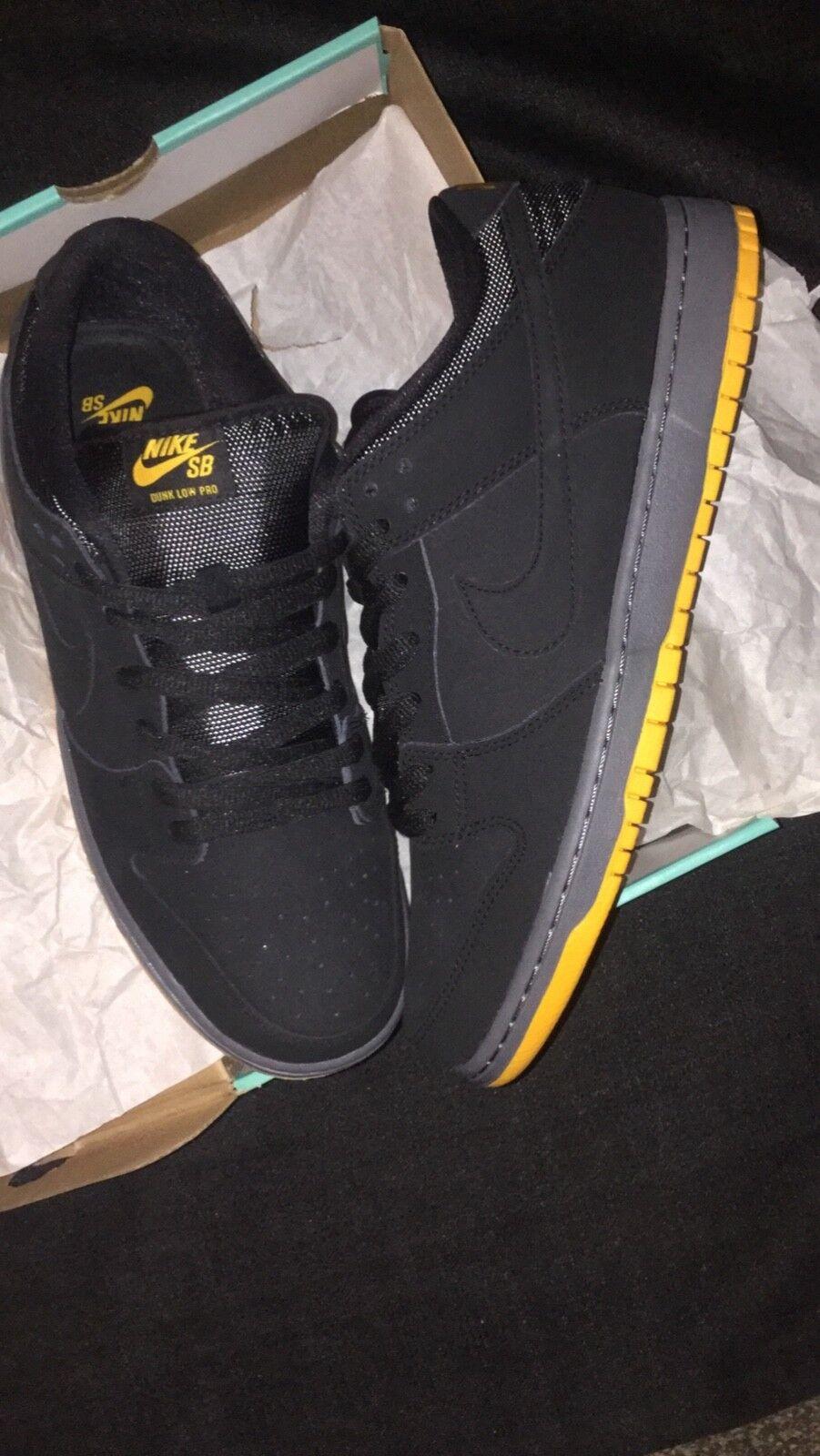 Nike SB Nike DUNK LOW PRO SB Black University gold 11.5 (2014)