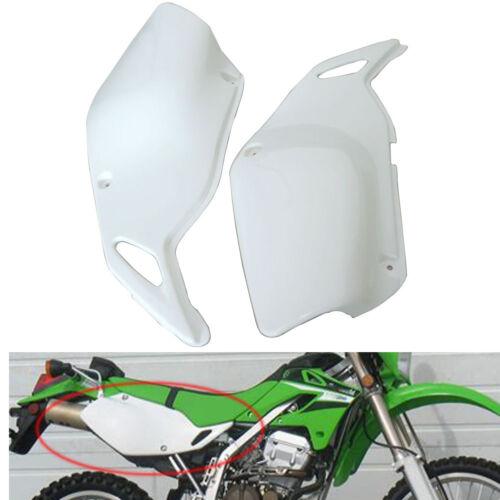 Rear Side Fairing Body Work Cover For Kawasaki KLX250 KLX300 1993-2007  White