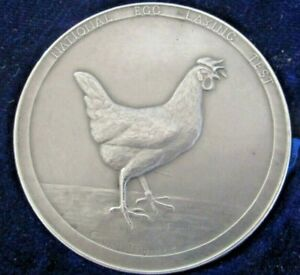Large-Silver-Poultry-Medal-Egg-Laying-Test-1937-38-C-Van-Dionant
