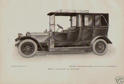 1914 Motore Auto Stampa