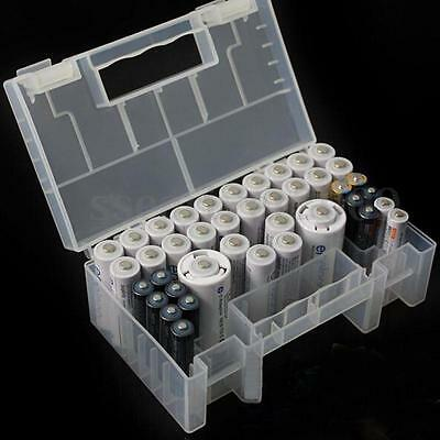 15 x 9 x 5.5cm Plastic Case Storage Box Holder Container For AA AAA C Battery