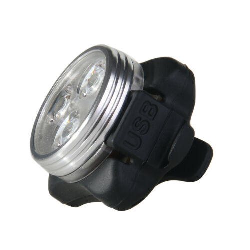 Bicycle Rear Light Warning Riding Front Light Bike Accessory USB Tail Lamp USB