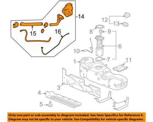GM OEM Fuel System-Filler Pipe 22951211