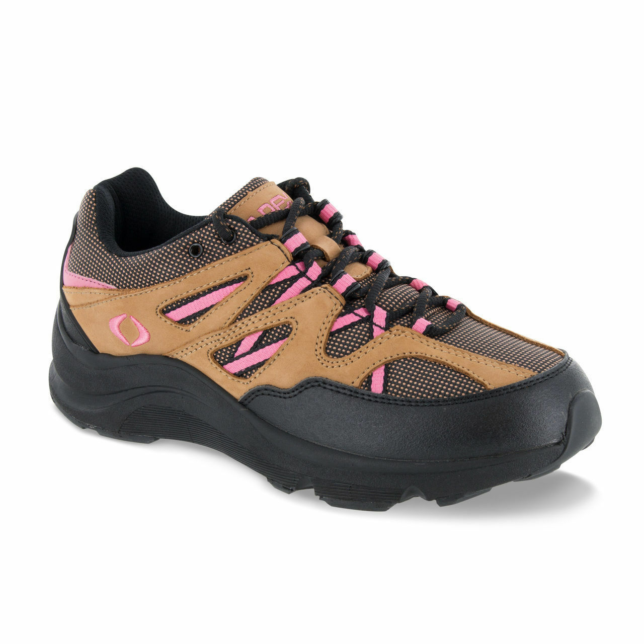 Apex Sierra Trail Runner V Last Brown Pink Diabetic shoes Extra Depth 9.5 W V752