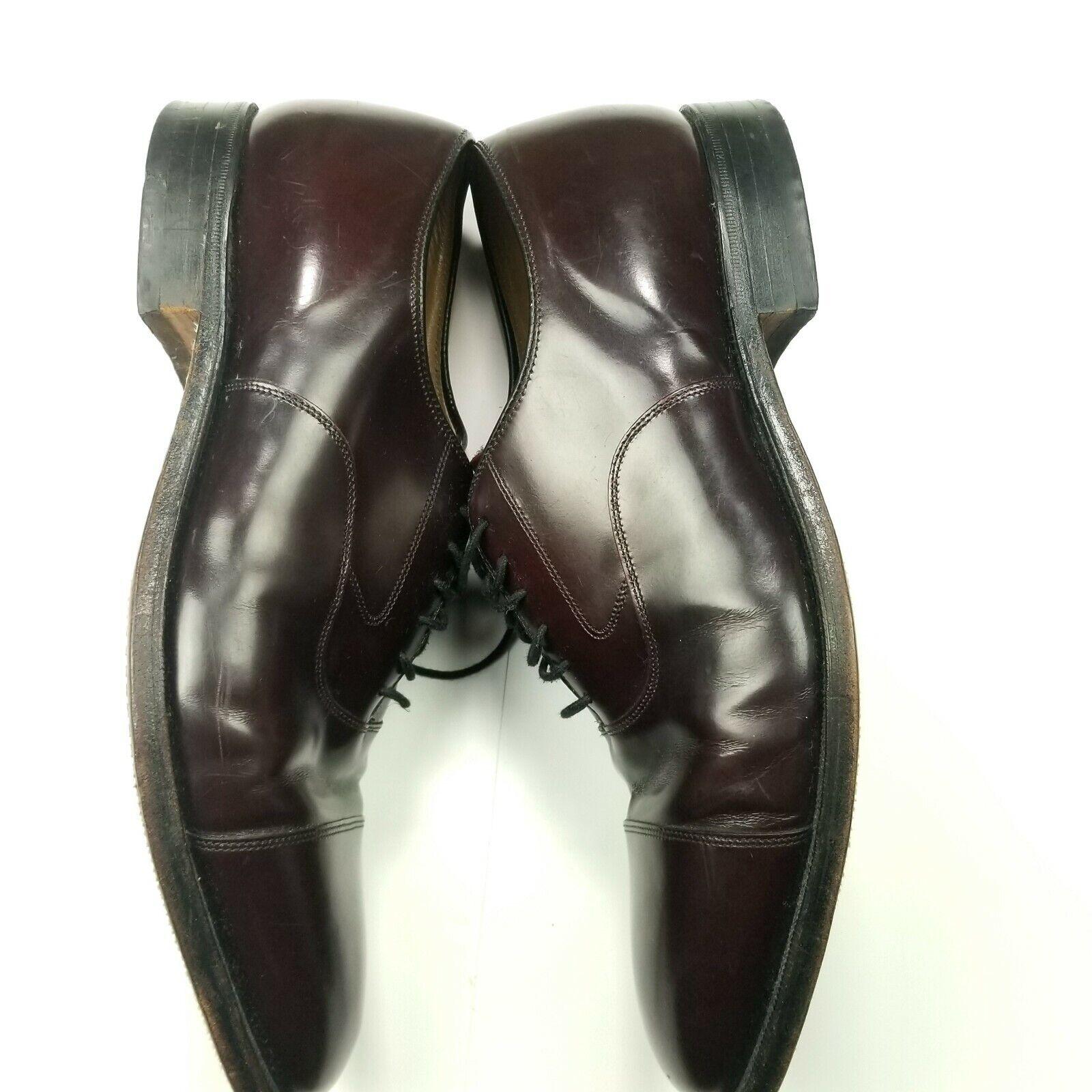 Johnston & Murphy Size 10.5 D/B Shoes Lace Up Brown Dress Shoes Mens