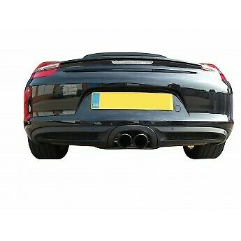 Zunsport noir arrière grille set pour porsche cayman s 981 pdk avec capteurs 2013