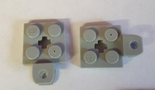 LEGO 63082 Platte modifiziert Kreuzloch 2x2 Ballbuchse 2 Stück Auswahl 74