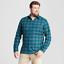 GOODFELLOW-Co-Mens-Big-amp-Tall-Standard-Fit-Plaid-Flannel-Shirt-2XB-3XB-4XB thumbnail 4