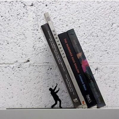 Book Stand Metal Original Gift idea Desing Falling Bookend Magic Illusion Shelf