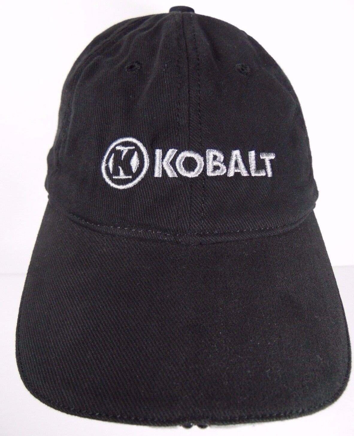 KOBALT TOOLS LOGO HAND TOOLS POWER ADVERTISING TOOLS TOOL STORAGE BLACK ADVERTISING POWER HAT CAP 3a68fc