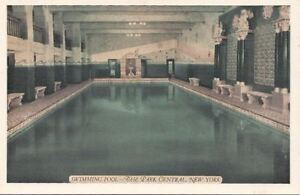 Postcard Swimming Pool Park Central Hotel New York City Ny Ebay