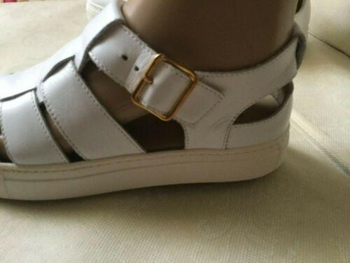 veau couleur taille pour Stokton 38 cuir Sandales Bianco Donna femmes de blanche Sandali 5fXzqtnxw