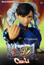 Medicom Street Fighter IV Chun-Li 2.0 Version Real Action Hero RAH IN STOCK USA