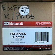 Disc Brake Pad-Standard Premium Rear MOTORCRAFT BRF-1539
