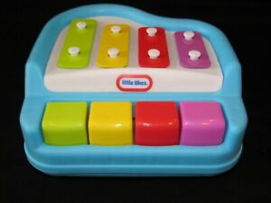 One Lot of Vintage Tiny Tikes and Fisher Price toy musical instruments free shipping