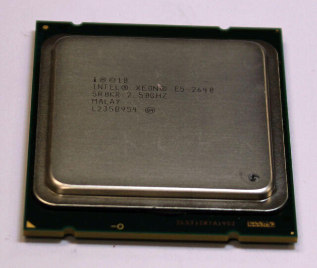 Intel Xeon E5-2640 SR0KR 2.50 GHz 15M Cache Six Core CPU LGA2011 Processor