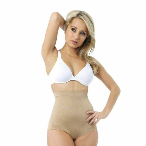 Belvia Briefs Pants Tummy Control Shapewear Size 8-10 12-14 Black Nude