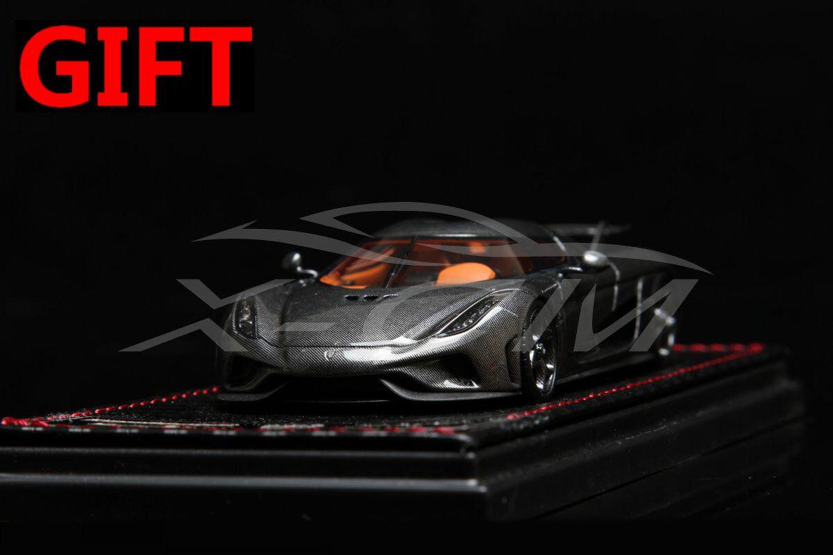 Modèle De Voiture  sophiart Koenigsegg regera 1 43 (fibre de voiturebone livrée) + petit cadeau  100% de contre-garantie authentique