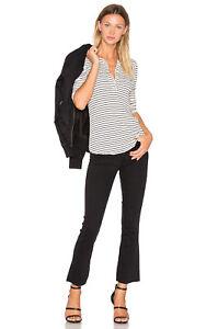Raw 23 Zampa A Colette Corto Jeans Black Orlo Jean Ritagliati Xs Paige vintage OwxqRUIgw