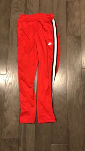 Red Vintage Nike Sweatpants
